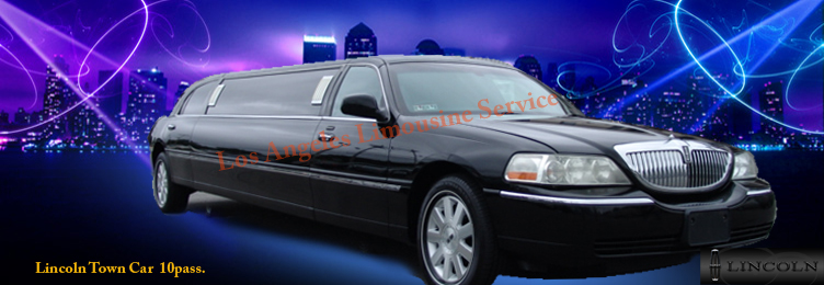Lincoln Limousine in Los Angeles
