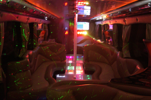 Party bus in Los Angeles